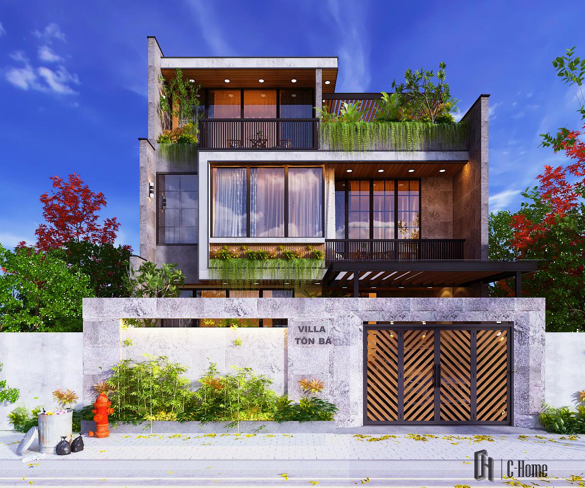Bảng giá thiết kế biệt thự tại C-Home